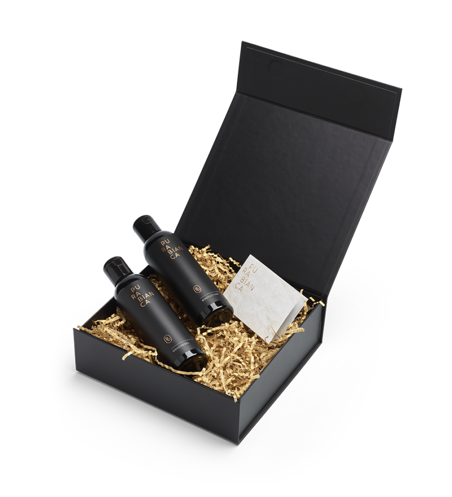 Luxe giftbox met douchegel & bodylotion