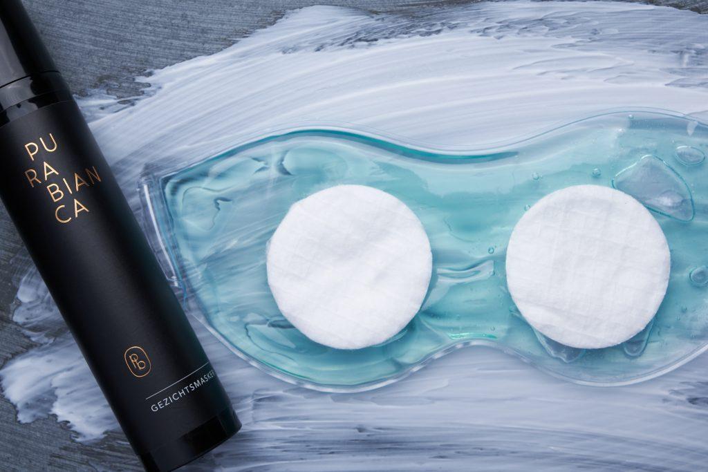 Voedend gezichtsmasker voor de droge huid